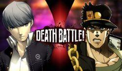 Yu VS Jotaro (Yoshirocks92)