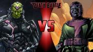 Brainiac vs. Kang the Conqueror