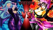 Morrigan Aensland vs. Lilithmon