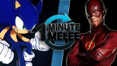 One Minute Melee - Sonic the Hedgehog vs The Flash