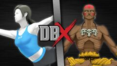Wii Fit Trainer VS Dhalsim (Official)