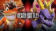 Crash VS Spyro offic