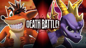 Crash VS Spyro offic
