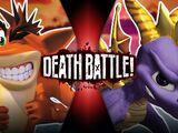 Crash VS Spyro