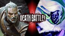 Geralt of Rivia VS Drizzt Do'Urden Gan