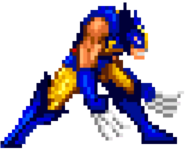 Wolverine Game Boy Advance - X-Men Reign of Apocalypse Sprite