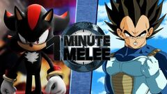 One Minute Melee Shadow VS Vegeta