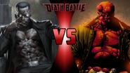 Blade vs. Hellboy