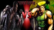Jax Briggs vs. Guile