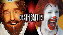 Ronald McDonald vs Burger King