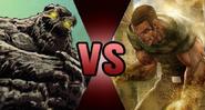 Clayface vs. Sandman