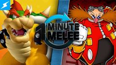 One Minute Melee Bowser vs Dr Eggman