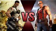 Serious Sam vs. Duke Nukem