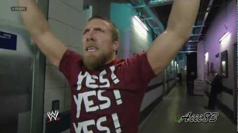Daniel Bryan chants YES! for 10 minutes-1