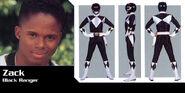Power Ranger negro Zack Taylor