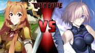 Raphtalia vs. Mash Kyrielight