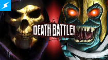 Death Battle Thumbnail Version 3.5 - Skeletor VS Mumm-Ra