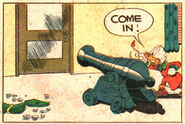 Scrooge's cannon