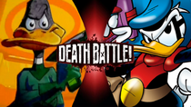 Duck Dodgers vs Paperinik