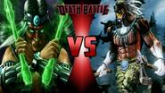 Nightwolf vs. Chief Thunder