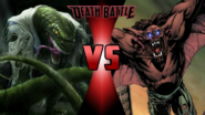 The Lizard vs. Man-Bat
