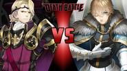 Xander vs. Saber Gawain