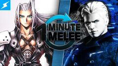 One Minute Melee Sephiroth vs. Vergil