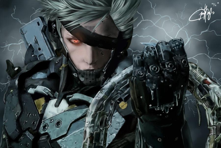 Raiden Metal Gear Solid Rising By Josephinekazuki D5kcd5c