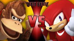 Donkey Kong VS Knuckles TN