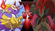 Kyubi vs. Zoroark
