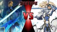 Jin Kisaragi vs. Ky Kiske