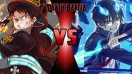 Shinra Kusakabe vs. Rin Okumura