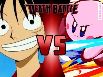 Kirby Vs Monkey D Luffy Death Battle Wiki Fandom