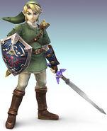 Super Smash Bros Link 01