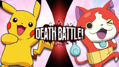 Pikachu Pokemon Vs Jibanyan Yokai Watch Death Battle