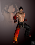 Tekken revolution jin kazama default by sticklove-d6pm7aq