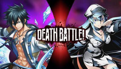 Gray VS Esdeath (Yoshirocks92)