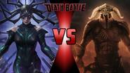 Hela vs. Ares