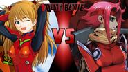 Asuka Langley Soryu vs. Kallen Kozuki