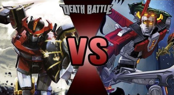 Image - Megazord vs Voltron.jpg | DEATH BATTLE Wiki ...