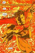 Superman in the sun
