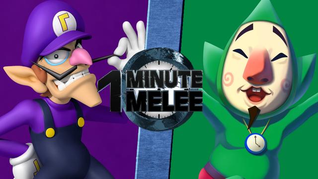 File:Waluigi vs. Tingle - Mario Series vs. The Legend of Zelda - One Minute Melee.png