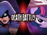 Raven VS Twilight Sparkle