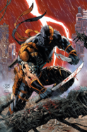 DC Comics - Deathstroke duel wielding his knife and sword