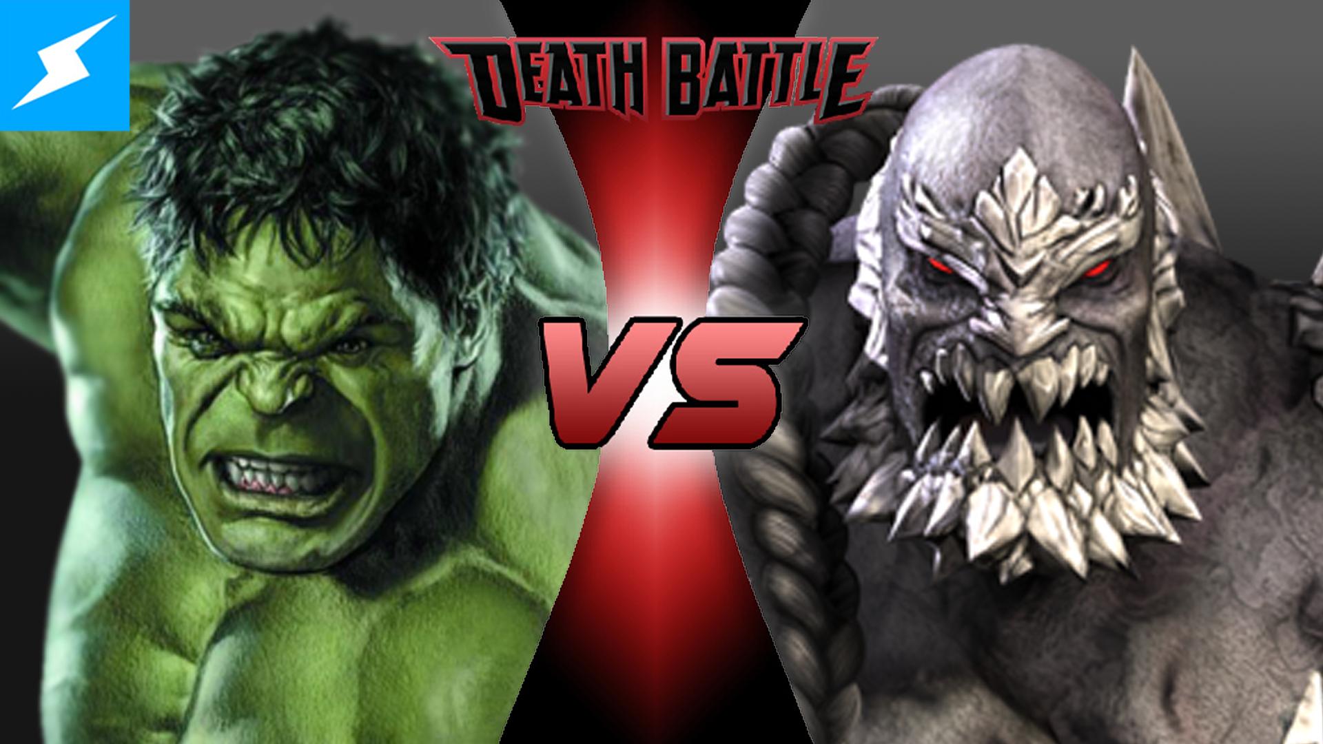 Image - Hulk VS Doomsday (Alemon97).png | DEATH BATTLE ... Doomsday Vs Hulk Death Battle