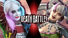 Death Battle Harley Quinn vs Tira 2.0