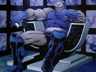 Darkseid throne