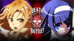 Asuna VS Orie (Yoshirocks92)
