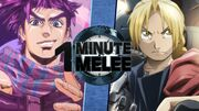 One Minute Melee Joseph Joestar vs. Edward Elric