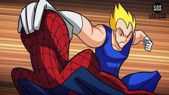 Dragon Ball Z VS Marvel Superheroes - What If Battle DBZ Parody
